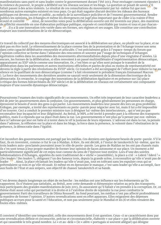 Les foules raisonnables. Notes sur les mouvements sans parti ni leader des années 2010 et leur rappo-page-008